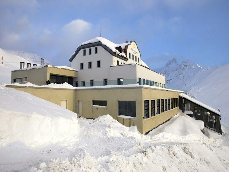 Plus-Energie-Hotel in den Alpen Muottas Muragl